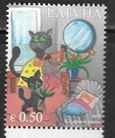 LATVIA, 2019, MNH,MOTHER'S DAY, CATS, 1v - Domestic Cats