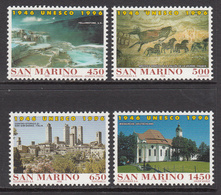 1996 San Marino UNESCO Yellowstone National Park Complete Set Of 4 MNH  **Visited Highly Recommended ** - San Marino