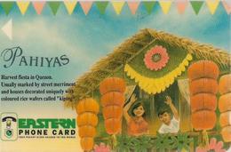 Philippines - Eastern Telecoms (GPT) - Pahiyas - 6PETE - 5.000ex, Used - Filippijnen