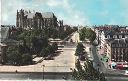 Nantes - Place Duchesse Anne ** Belle Carte Dentelée De 1963 ** - Ed. Belli'ta N°153 - Nantes