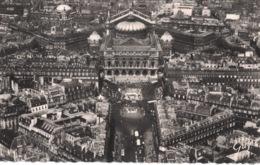 Place De L'Opéra ** Belle Carte Dentelée De 1953 ** - Ed. Leconte N°3.521 - Squares