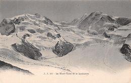 Le Mont-Rose Et Le Lyskamm - VS Valais