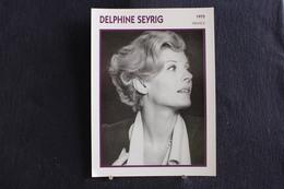 Sp-Actrice,Française,1975 - Delphine Seyrig, Née En 1932 à Beyrouth (Grand Liban), Morte En 1990 à Paris. - Acteurs
