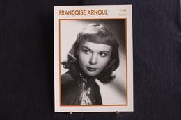 Sp-Actrice,Française,1955 - Françoise Arnoul,  Née Le 9 Juin 19311 à Constantine, Algérie. - Acteurs