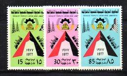 APR2293 - LIBIA LYBIA 1977 , Serie Yvert  N. 648/650  ***  MNH  Rivoluzione - Libia