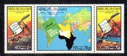 APR2296 - LIBIA LYBIA 1977 , Serie Yvert  N. 663/665  ***  MNH  Libro Verde - Libia