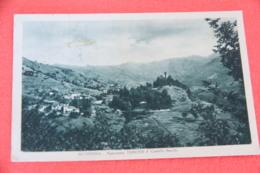 Genova Scoffera Con Tercesi E Castelli Becchi 1937 Ed. Gardella - Italia