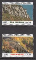 1999 San Marino  National Park Europa Complete Set Of 2 MNH - San Marino