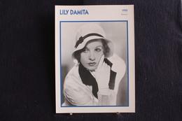 Sp-Actrice, Française, 1935 - Lily Damita - Née En 1904, Blaye, France, Morte En 1994 à Palm Beach, Floride, États-Unis. - Acteurs