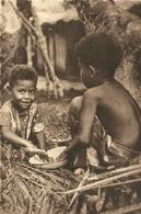 (NOUVELLE CALEDONIE )( ETHNIE ET CULTURE ) PETITS PATISSIERS CALEDONIENS - Nouvelle Calédonie