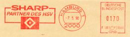Freistempel 3115 Sharp HSV Fußball - Marcofilia - EMA ( Maquina De Huellas A Franquear)