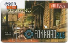 Philippines - PLDT (Chip) - Historical House - Exp.30.11.1998, Chip Siemens S30, 500₱, Used - Filippijnen