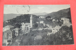 Genova S. Olcese Veduta Dai Berti 1914 - Altre Città