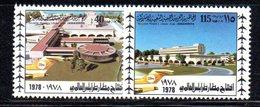 APR2298 - LIBIA LYBIA 1978 , Serie Yvert  N. 695/696  ***  MNH Aeroporto - Libia