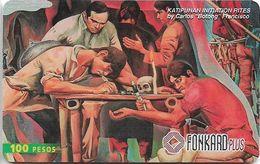 Philippines - PLDT (Chip) - Katipunan Initiation Rites - Exp.31.01.2000, Chip CHT10, 100₱, Used - Filippine