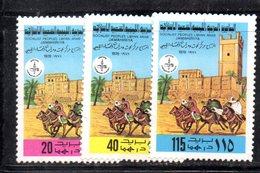 APR2301 - LIBIA LYBIA 1978 , Serie Yvert  N. 720/722  ***  MNH - Libia