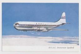 AJ02 Aviation - B.O.A.C. Stratocruiser Speedbird - 1946-....: Modern Era