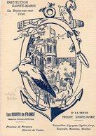 83 LA SEYNE SUR MER INSTITUTION SAINTE MARIE SCOUTS DE FRANCE TROUPE DE SAINTE MARIE ANIMEE DESSIN DE M LAINE HAMFORD - La Seyne-sur-Mer