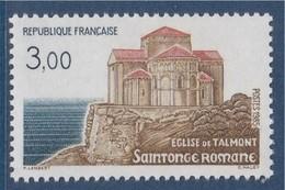 = Saintonge Romane, L'Eglise De Talmont, Série Touristique, 3f00 N°2352 Neuf - Neufs