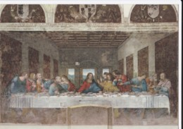 AL17 Art - The Last Supper By Leonardo - Paintings