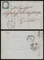 IV: 20c (15A) Su Lettera Alghero (p.3) Fta EnD. (€ 347,50) - Sardinia