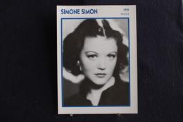 Sp-Actrice,française,1935 - Simone Simon - Née Le 23 Avril 1911 à Marseille, Morte Le 22 Février 2005 à Paris ,france. - Acteurs