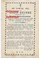 Doodsprentje Louis Deprez Ichtegem 1822 En Overleden Te Zande  1897 VanCraeynest Koekelare Eernegem Bidprentje - Devotieprenten