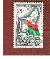 MADAGASCAR -  SG 5  -   1959   MALAGASY REPUBLIC: FLAG   -  USED° - Madagascar (1960-...)