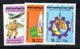 APR2304 - LIBIA LYBIA 1978 , Serie Yvert  N. 700/702  ***  MNH  Rivoluzione - Libia