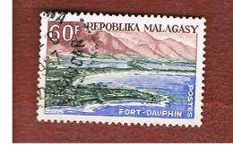 MADAGASCAR -  SG 43 -   1962 TOURISM: FORT DAUPHIN    -  USED° - Madagascar (1960-...)