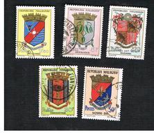 MADAGASCAR -  SG 71 -   1963 TOWNS ARMS   -  USED° - Madagascar (1960-...)