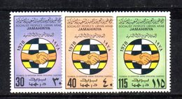 APR2306 - LIBIA LYBIA 1978 , Serie Yvert  N. 709/711  ***  MNH - Libia