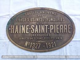 Plaque Identification - Chemin De Fer