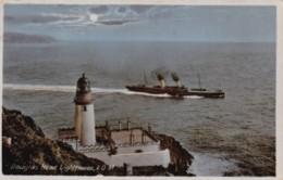 AL72 Douglas Head Lighthouse, I.O.M. - RPPC, Ship - Isle Of Man