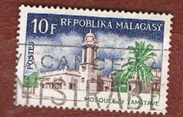 MADAGASCAR -  SG 128.129 -   1967  RELIGIOUS BUILDINGS   -  USED° - Madagascar (1960-...)