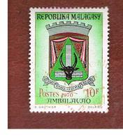 MADAGASCAR -  SG 174 -   1970 TOWNS ARMS: AMBALAVAO  -  USED° - Madagascar (1960-...)