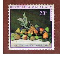 MADAGASCAR -  SG 183 -   1970 MALAGASY FRUITS  -  USED° - Madagascar (1960-...)