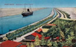 AN40 Port Said, Entrance Of The Canal - Port Said