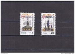Chile Nº 1598 Al 1599 - Chile