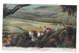 Chalabre (Aude)  Le Château - Frankreich