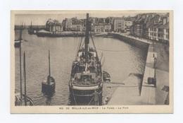 56--BELLE-ILE-en-MER - LE PALAIS - Le Port   --RECTO/VERSO - B65 - Belle Ile En Mer