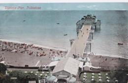 AO96 Victoria Pier, Folkestone - 1906 Postcard - Folkestone