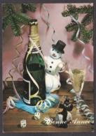 97799/ NOUVEL AN, Ramoneur, Bonhomme De Neige, Dés à Jouer, Champagne - Nouvel An