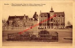 Gemeenteplaats, Stadhuis En Gedenkteken Verwée - Knokke - Knokke