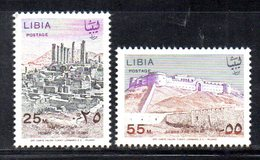 APR2311 - LIBIA LYBIA 1967 , Serie Yvert  N. 296/297  ***  MNH - Libia