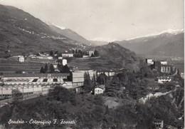 SONDRIO-COTONIFICIO F.FOSSATI-CARTOLINA VERA FOTOGRAFIA-VIAGGIATA IL 10-7-1958 - Sondrio