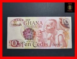 GHANA 10 CEDIS  2.1.1976  P. 16 D  XF - Ghana