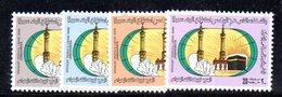 APR2309 - LIBIA LYBIA 1978 , Serie Yvert  N. 712/715 ***  MNH  La Mecca - Libia