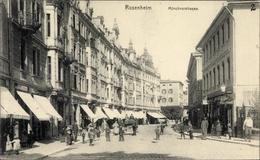 Cp Rosenheim Im Alpenvorland Oberbayern, Blick In Die Münchener Straße - Alemania