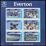 Soccer Football 2001 Grenada KB 4809/15 Everton MNH ** - Famous Clubs